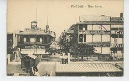 AFRIQUE - EGYPTE - PORT SAÏD - Main Street - Port Said