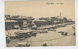AFRIQUE - EGYPTE - PORT SAÏD - The Quai - Port Said