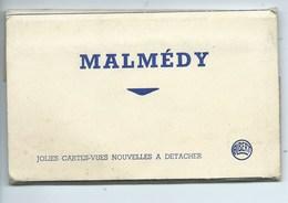 Malmedy ( Carnet De 10 Vues Numérotées Du Nr 1 Au Nr 25 !!!  Les Vues Sont Scanées Dans L'ordre Du Carnet ) - Malmedy