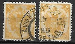 BOSNIE - HERZEGOVINE    -  1879 .  Y&T N° 2 Oblitérés. - Bosnie-Herzegovine