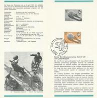 België   O.B.C.   Postfolder  Nr. 4  -  1973   1666  Brugge - Postdokumente