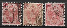 BOSNIE - HERZEGOVINE    -  1879 .  Y&T N° 4 Oblitérés. - Bosnie-Herzegovine