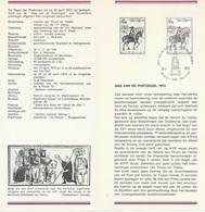 België   O.B.C.   Postfolder  Nr. 6  -  1973   1668  Dag V/d Postzegel  Brussel-Bruxelles - Postdokumente