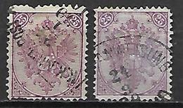 BOSNIE - HERZEGOVINE    -  1879 .  Y&T N° 8 Oblitérés - Bosnie-Herzegovine