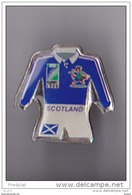 PIN'S THEME RUGBY  COUPE DU MONDE 1999 MAILLOT SCOTLAND - Rugby