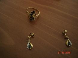 BAGUE PLUS BOUCLES D'OREILLES EN OR - Earrings