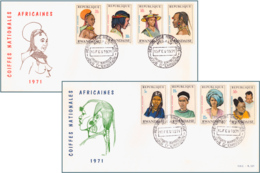 Rwanda 0408/15 FDC   Coiffes II   1er Jour - Ruanda