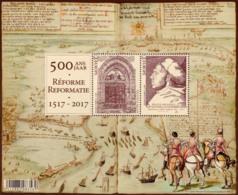 Belgium BL 250**  500 Ans De Réforme  Année 2017 - Blocs 1962-....