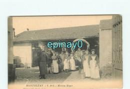 91 - MONTLHERY - Maison Roger - Laiterie - Montlhery
