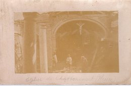 CHATTANCOURT  -  Carte Photo  -  L' Eglise En 1915 - Otros Municipios