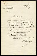 FRANCE - LETTRE MANUSCRITE DE R. POINCARÉ LE 28/11/1927, AVEC SIGNATURE - SUP - Autographes