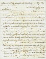 1823   COMMERCE NAVIGATION NEGOCE  NTERNATIONAL De WILSON & BLANSHARD à LONDRES => LE CARPENTIER LACOUDRAY à  HONFLEUR - Manuscrits