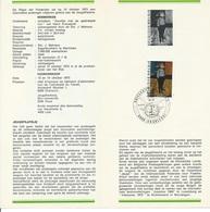 België   O.B.C.   Postfolder  Nr. 16  -  1973   1686   Jeugdfilatelie   Charleroi - Documents De La Poste