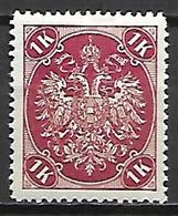 BOSNIE - HERZEGOVINE    -  1900 .  Y&T N° 21 * . - Bosnië En Herzegovina