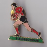 PIN'S THEME RUGBY  CLUB LE BUISSON EN DORDOGNE - Rugby