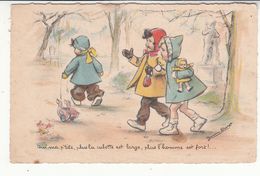 Illustrateur - Germaine Bouret - Ami Ma P'tite, Plus La Culotte Est Large, Plus L'homme Est Fort !... - Bouret, Germaine