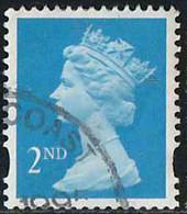 GB 1993 Yv. N°1697 - 2nd Bleu - Oblitéré - Machin-Ausgaben
