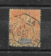 ANJOUAN TYPE GROUPE N° 10 - COTE = 38.00 € - Anjouan (1892-1912)