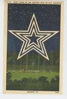 U.S.A - VIRGINIA - ROANOKE - Night Scene Of The Electric Star On Mill Mountain - Etats-Unis