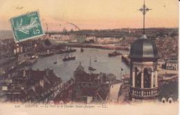CPA - 239. DIEPPE Le Port Et Le Clocher St Jacques - Dieppe