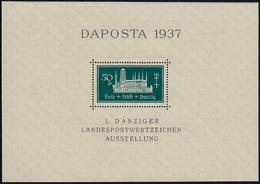 Block 1 Marienkirche DAPOSTA Postfrisch ** / MNH - Danzig