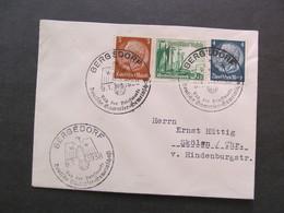 DR Nr. 653, 1938, Brief MiF, Tag Der Briefmarke  *DEL2024* - Briefe U. Dokumente