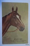 SPION KOP,by Spearmint-Hammerkop-Winner Of Derby 1920 - Hippisme