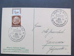 DR Nr. 513 OR, 1938, Postkarte Puppen, Tag Der Briefmarke *DEL2027* - Alemania