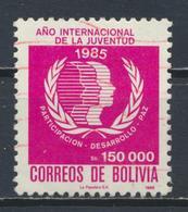 °°° BOLIVIA - Y&T N°671 - 1986 °°° - Bolivia