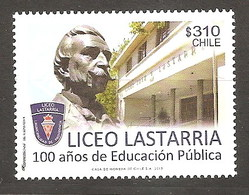 CHILE 2013 CENTENARY OF PUBLIC EDUCATION  MNH - Chile