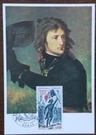 CM 1972 - YT N°1730 - BONAPARTE AU PONT D'ARCOLE - PARIS - Cartes-Maximum