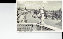 ITALY  - VINTAGE POSTCARDS- VERONA - PIAZZA BRA ED ARENA  - ANIMATA - NON  LUCIDA- NUOVA -ED.GIANNI FERRARI -VERONA POST - Verona