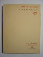 JEAN PAULHAN - CLEF DE LA POSEIE - GALLIMARD METAMORPHOSES N° XXI - 1962 - TBE - Poésie