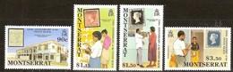 Montserrat 1990 Yvertn° 735-738 *** MNH Cote 10 Euro - Montserrat