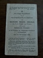 Kloosterbeloften    GERMAINE DHEERE Te Borgerhout 1928 - Announcements