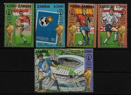 ZAMBIE  N° 1189/93 * *  ( Cote 15e )   Cup 2002  Football Soccer Fussball - Coupe Du Monde