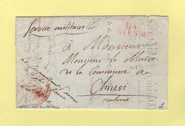 Sienne - 114 - 1812 - 29e Division Militaire - Commandant D Armes Place De Sienne - Departement Conquis De L'Ombrone - 1. ...-1850 Prefilatelia