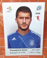 EURO2012 PANINI N. 96 KONE  STICKER NEW CON VELINA - Panini