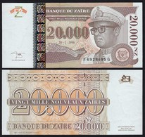 Zaire - 20000 20.000 Zaires 1996 Pick 72 UNC    (21392 - Banknotes