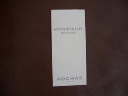 Carte Rochas Monsieur - Modernes (à Partir De 1961)