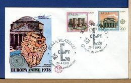 ITALIA - 1978 -  FDC FILAGRANO  -  EUROPA - F.D.C.