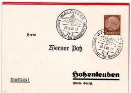 Drucksache Sonderstempel HJ Sommerlager Banne 572-577 Walchsee 1940 - Deutschland