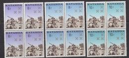 Katanga 1962 Katangese Gendarmerie 3w Bl Van 4 ** Mnh (40996H) - Katanga