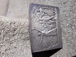 Médaille Bronze Art Nouveau Jean Macé Ligue Française De L'enseignement (JEAN MACÉ) - Other