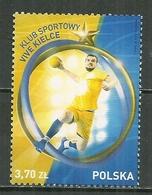 POLAND MNH ** 2016 Sport Club De Handball De Vive KIELCE - 1944-.... Republik