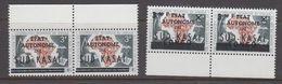 Zuid-Kasaï 1961 2w Pair (margin) ** Mnh (40997F) - Sud-Kasaï