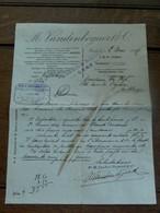 Soiété  M.  VANDEN BOGAERT 1907  GAND - Banque & Assurance