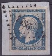 France, Somme - Pc 1486 De Ham Sur Yvert N° 10 - Marcophilie (Timbres Détachés)