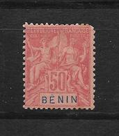 BENIN TYPE GROUPE N° 43 NEUF* - COTE = 32.00 € - Bénin (1892-1894)
