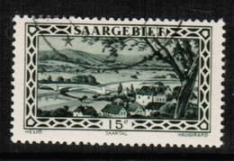 SAAR  Scott # 121 VF USED (Stamp Scan # 424) - 1920-35 League Of Nations